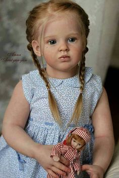 CHILD DOLL Emilia by Natali Blick. 32 Inches by LittleBlessingsLLD