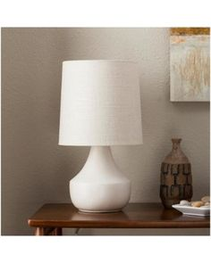 Threshold Wren Accent Lamp - Cream (Includes CFL Bulb) - Threshold, Ivory/Dark Off-White from Target | BHG.com Shop