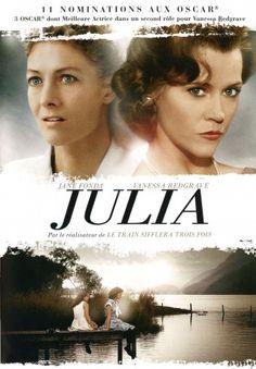 DVD « Julia » de Fred Zinnemann. Avec Jane Fonda,Vanessa Redgrave, 11 nominations aux Oscars, 3 obtenus dont celui de la meilleure actrice pour Vanessa Redgrave…