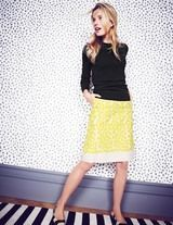 boden fancy embroidered skirt | Found on bodenusa.com