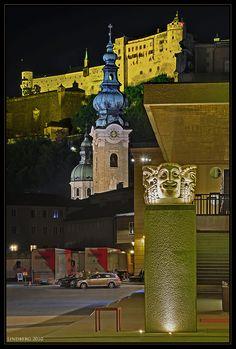 Haus für Mozart, am Eingang, Salzburg Salzburg Austria, Heart Of Europe, Bavaria, Pisa, Dubai, Tower, Building, Travel, Architecture