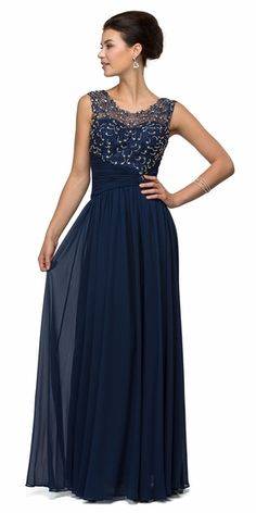 Dancing Queen - 8816 Asymmetrically Ruched Illusion A-Line Prom Dress – Couture Candy Blue Evening Dresses, A Line Prom Dresses, Evening Gowns, Bridesmaid Dresses, Blue Dresses, Chiffon Dress, I Dress, Prom Dress Couture, Formal Gowns