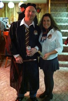 Ron & Hermione adult Halloween costume