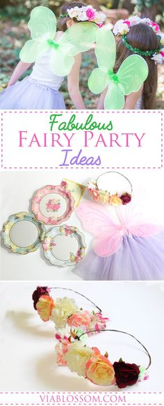 Must have Fairy Party Ideas and decorations for a Magical Girl Birthday Party!