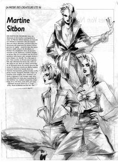 Fashion Illustration by Helene Majera