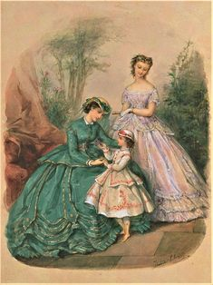 Vintage Dress Patterns, Vintage Gowns, Victorian Era, Victorian Fashion, 1800s Dresses, Civil War Fashion, Fashion Plates, Fashion History, Costumes