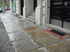 Berlin pavement #streetscape #germany