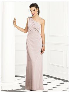 Long pastel bridesmaid dresses.  http://www.thebridelink.com/blog/2013/04/05/blush-and-pink-bridesmaid-dresses/ #wedding #bridesmaids #pink #dresses