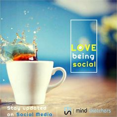 Stay #social stay #updated with @mindsketchers visit us at www.mindsketchers.in