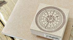 方位磁石:アンティークなイラストスタンプ   OSANPO Shopping   手帳に役立つスタンプ雑貨の通販