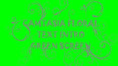 This is a premade Camtasia Green Screen Template. It installs into Camtasia (PC) and you can then just drop it on your timeline and edit the text and other details in it. Instructions (PDF) and music are also included.  In our latest Camtasia Template we've created a Floral arrangement set up as a green screen to use in Camtasia (PC). The template includes the text, the green-screen floral layer and music. You can freely edit the text, change font, size, color length etc.