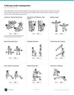 4 fettforbrenningsmetoder for nybegynnere + program du kan printe ut | Desiree Andersen Printer, Words, Studio, Printers, Studios, Horse