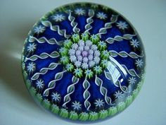 Perthshire PP62 Large Patterned Millefiori Paperweight