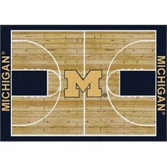 Michigan basketball court