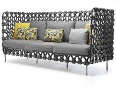 Divano / divano da giardino Collezione Cabaret by KENNETH COBONPUE | design Kenneth Cobonpue
