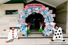 Alice in Wonderland Birthday Party Ideas   Photo 2 of 56   Catch My Party