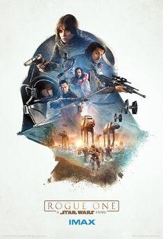 Galaxy Fantasy: Tres nuevos carteles IMAX de Rogue One: A Star Wars Story