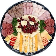 How to Arrange a Homemade Deli Platter thumbnail