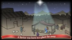 A Savior was born in a place far away