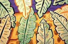 2nd Grade Art with Mrs. Brown - Hide 'n' Seek Animals