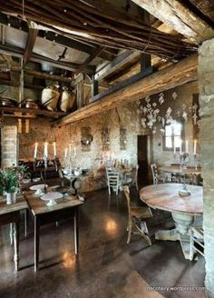 Once Upon A Time There Was An Old Olive Mill...   S t a r d u s t - Decor & Style