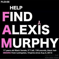 Find Alexis Murphy
