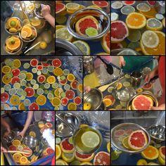 "Oranges, lemons, limes and grapefruit. citrus soup from Rachel ("",) Nursery Activities, Preschool Activities, Sensory Diet, Sensory Play, Early Years Classroom, Teacher Inspiration, Oranges And Lemons, Water Play, Hungry Caterpillar"