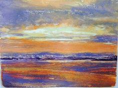 Sakonnet Sunset by Barbara Humphrey, Monotype