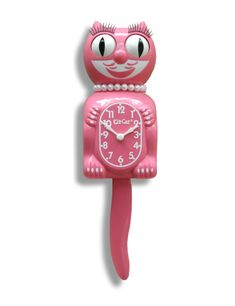 New Limited Edition Strawberry Ice Kit-Cat is a gentleman who's not afraid to wear pink! Strawberry Ice Lady led the way in and now her rosy hue is available in our gentleman Kit-Cat. Crazy Cat Lady, Crazy Cats, Farmasi Cosmetics, Hanging Clock, Cat Clock, Kawaii, Pink Cat, Pink Girl, Cat Wall