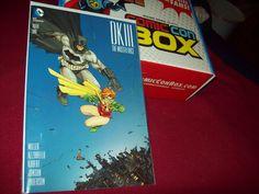 DKIII THE MASTER RACE #1 COMIC CON BOX VARIANT BATMAN NM!!!