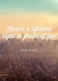 Don't lie - Vampire Weekend. One of my all time favorites from them!!!