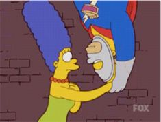 Even in alternate universes, they are drawn to each other.   22 Times Homer And Marge Simpson Gave Us Relationship Goals