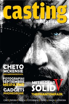 Portada Septiembre  Metal Gear Solid V