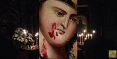 Παράτολμος Έλληνας  : «ΑΙΜΟΡΡΑΓΕΙ ΕΙΚΟΝΑ ΤΗΣ ΠΑΝΑΓΙΑΣ ΤΗΝ ΙΔΙΑ ΣΤΙΓΜΗ ΠΟ...