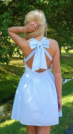 Hamptons Summer Dress- Blue