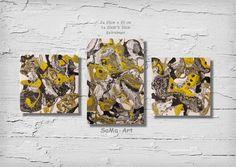 Acrylmalerei - Acrylbild, Wandbild,Abstrakt **ColourPlay Serie - ein Designerstück von SoMa-Art bei DaWanda