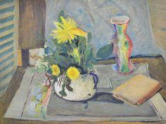 JOSÉ SIMEONE - (1930 - 2009)    Título: Flores  Técnica: óleo sobre tela  Medidas: 47 x 60 cm  Assinatura: canto inferior direito