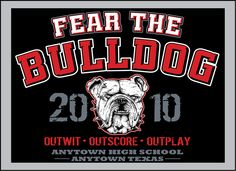 bulldog football tshirt designs bulldog t shirts for high schools