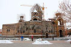 Звартноц и Эчмиадзин - знаменитые храмы Армении
