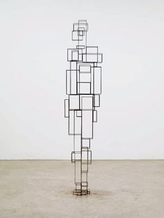 Antony Gormley, Construct VI, 2011 © Antony Gormley – Courtesy Galerie Thaddaeus Ropac Plus Art Gallery, Wire Sculpture, Installation Art, Antony Gormley Sculptures, Sculpture, Art, Metal Art Sculpture, Contemporary Art, Martial Arts Styles