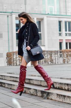 Zara All Everything :: Military Jacke & meine roten Boots | VÉjÀ Du | Bloglovin'