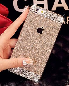 iPhone 6 Plus Case, UnnFiko Beauty Luxury Diamond Hybrid Glitter Bling Hard Shiny Sparkling with Crystal Rhinestone Cover Case for Apple iPhone 6 Plus (5.5) - Retail Packaging (Gold, iPhone 6 Plus) UnnFiko http://www.amazon.com/dp/B00V49NGBQ/ref=cm_sw_r_pi_dp_TZbMwb09CR433