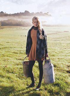 La campagne, la nature, respirer l'air frais, la rosée du matin, marcher à travers champs… un Délice…. !