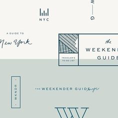 Design, branding, brand, brand identity, logo, logos, graphic design, identity, web, website, website design, editorial, magazine, print, business card, illustration, lettering, hand lettering, color, blog, blogging, NYC, New York City, travel, city guide