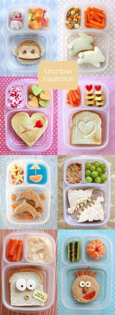 Yummy food, good food, fun food for kids, lunch box enfant, kids lunch fo. Cute Food, Good Food, Yummy Food, Yummy Lunch, Toddler Meals, Kids Meals, Toddler Food, Toddler Lunchbox Ideas, Lunch Ideas Kids At Home