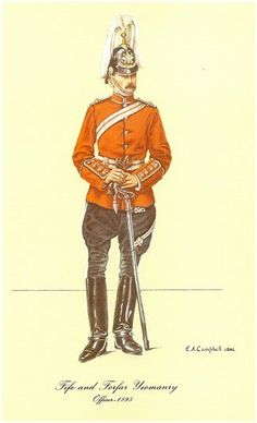 Fife and Forfar Yeomanry - Officer circa. 1895.