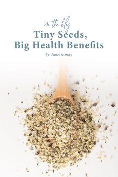 """Let's talk about the """"seedy"""" part of your diet. (Don't worry, I'm talking about actual seeds here, not those """"questionable"""" snacks you might think I'm referring to.) Read on...."""