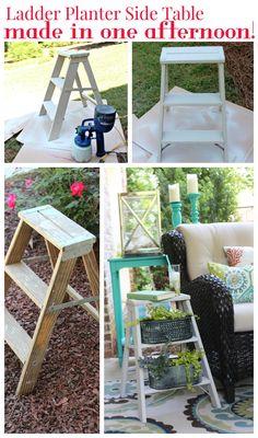 Ladder Side Table Pl