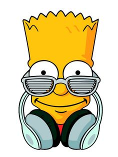 Camiseta Manga Curta Bart - Nerd Plugado Bart Simpson, Simpson Wallpaper Iphone, Iphone Wallpaper, Hipsters, Simpsons Art, Desenho Tattoo, Man On The Moon, Futurama, Graffiti