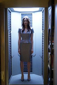 'Mallory Jansen' as 'AIDA', a 'Life Model Decoy' on 'Marvel's: Agents Of S.H.I.E.L.D.'